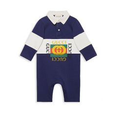 Baby Boys Polo Playsuit