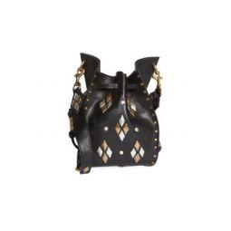 Radja Embellished Leather Bucket Bag