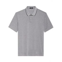 Current Contrast Trim Polo