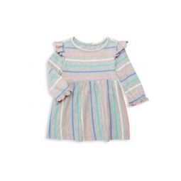 Baby Girls Sweet Stripe Ruffle Top