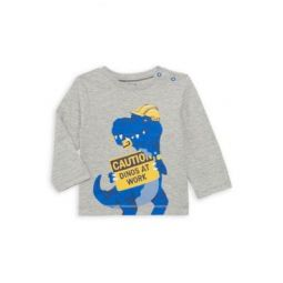 Baby Boys & Little Boys Dino Worker Long-Sleeve Shirt