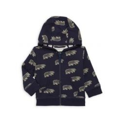Baby Boys Band of Bears Reversible Hoodie
