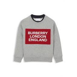 Little Boys & Boys Logo Sweatshirt