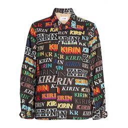 Kirin Typo Denim Field Jacket