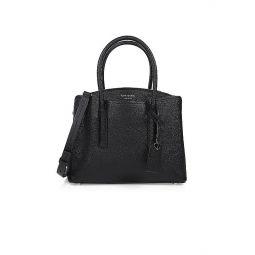 Medium Margaux Leather Satchel