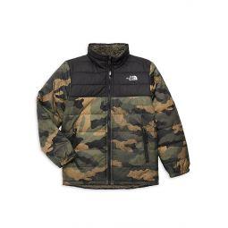 Little Boys & Boys Reversible Faux Sherpa Puffer Jacket