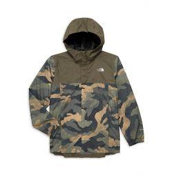 Little Boys & Boys Resolve Reflective Hooded Jacket