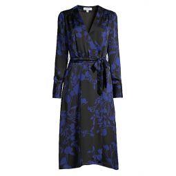Cherylene Floral Wrap Dress
