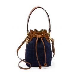 Mini Mon Tresor Denim Bucket Bag