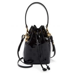 Mini Mon Tresor Patent Leather Bucket Bag