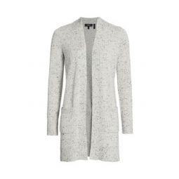 Open-Front Cashmere Cardigan Sweater