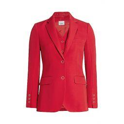 Ornella Layered Wool Jacket