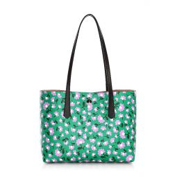 Small Molly Party Floral PVC Tote