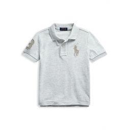 Little Boys Cotton Polo Shirt