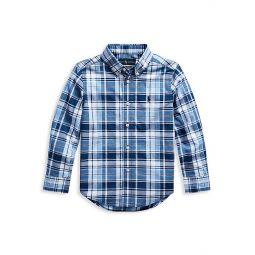 Little Boys Plaid Shirt