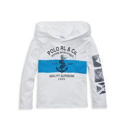 Little Boys & Boys Jersey Pullover Hoodie