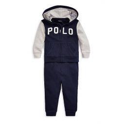Baby Boys 2-Piece Hookup Hoodie & Pants Set