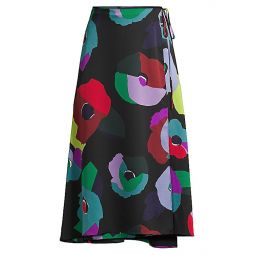 Floral Collage Skirt