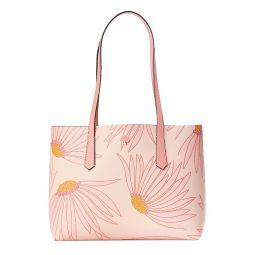 Small Molly Falling Flower PVC Tote