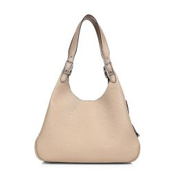 Pebble Leather Shoulder Bag
