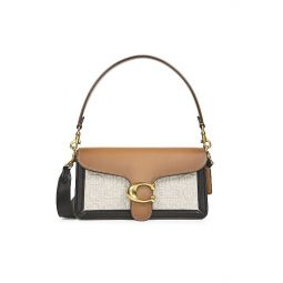 Tabby Colorblock Leather Shoulder Bag