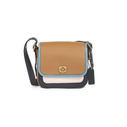 Rambler Colorblock Leather Crossbody Bag