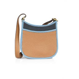 Emery Colorblock Leather Crossbody Bag