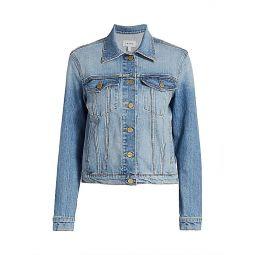 Le Vintage Style Denim Jacket