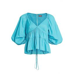 Lucy Puff-Sleeve Top
