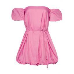 Ash Puff Sleeve Off-The-Shoulder Mini Dress
