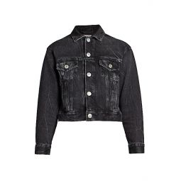 Shrunk Denim Jacket