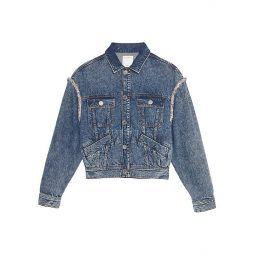 Snow Embellished Denim Jacket