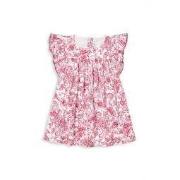 Baby Girls Ruffled Paisley Dress