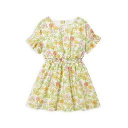 Little Girls & Girls Floral Dress