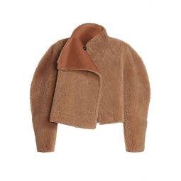 Acaciae Reversible Shearling Coat