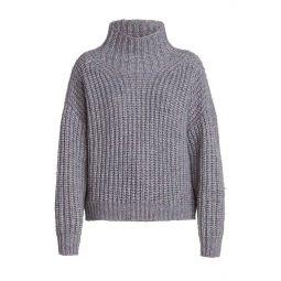 Iris Chunky Turtleneck Alapca-Knit Sweater