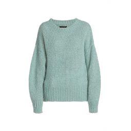 Estelle Mohair-Blend Crewneck Sweater