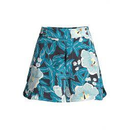 Lyra Silk Wide Shorts