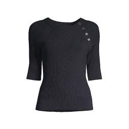 Desiree Short-Sleeve Sweater