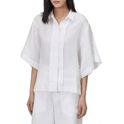 Chaney Kimono-Sleeve Blouse