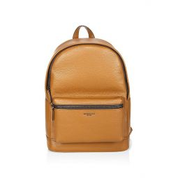 Bryant Pebble-Textured Leather Backpack