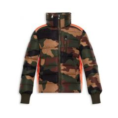 Little Boys & Boys Bremes Camo Jacket