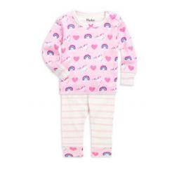 Baby Girls Two-Piece Unicorn Pajama Set