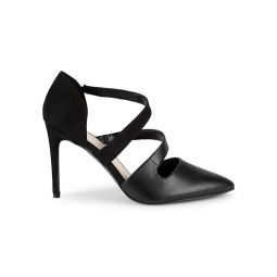Strappy Point Toe Pumps