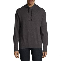 Regular-Fit Long-Sleeve Cashmere & Wool Hoodie