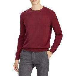 Regular-Fit Long-Sleeve Cashmere Sweater