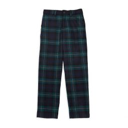 Little Girls Plaid Wool Pants