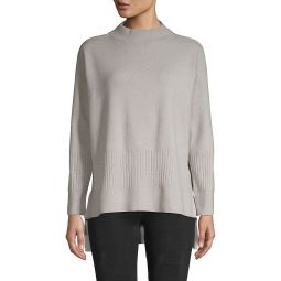 Long-Sleeve Wool-Blend Sweater