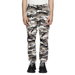 Camouflage-Print Pants