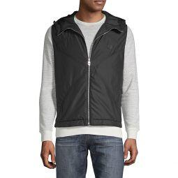 Zip-Front Hooded Vest